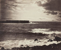 Gustave Le Gray grande vague à Sète